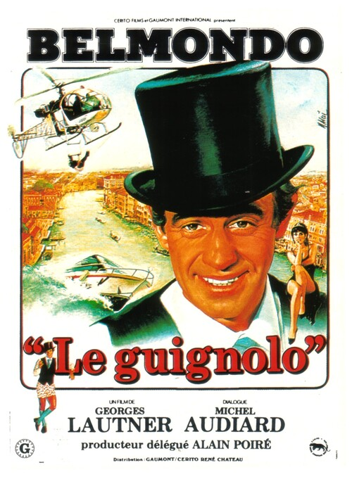 LE GUIGNOLO - BOX OFFICE JEAN-PAUL BELMONDO 1980