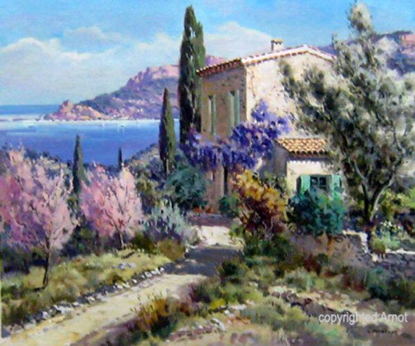 Peinture de : Lucien Potronat