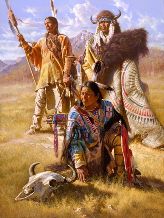 Sehr Alfredo Rodriguez - Les Indiens d'Amérique du Nord XN99