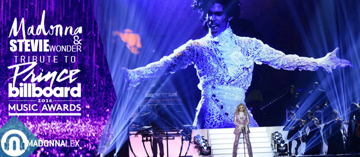 Hommage Madonna Stevie Wonder Prince Billboard Music Awards
