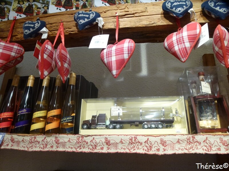 La maison du pain d'épices à Gertwiller (Bas-Rhin)