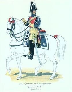 René Allory, gendarmme....