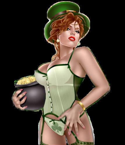Personnages de St-Patrick Série 3