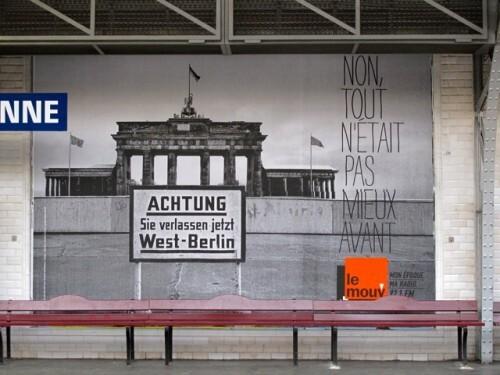 affiche Le mouv avant Allemagne de l'Est
