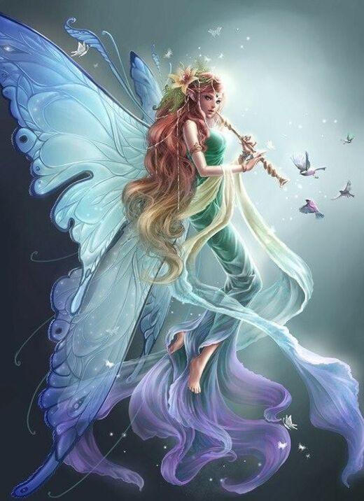 Femmes papillons