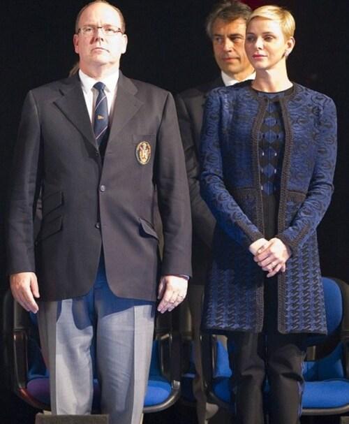Albert et Charlène
