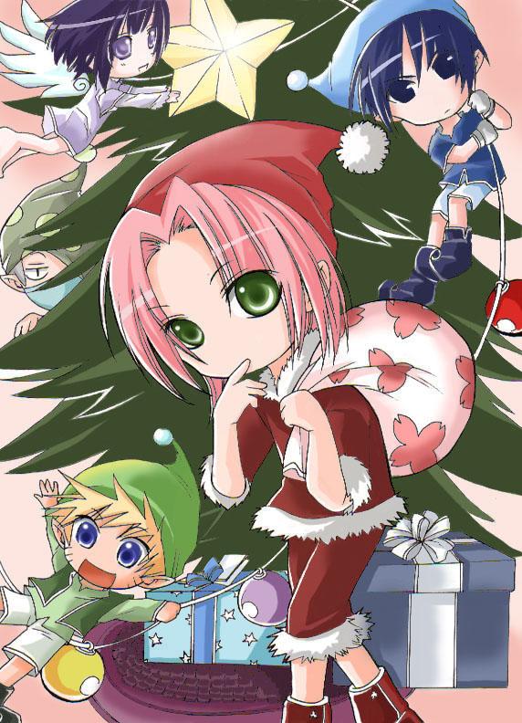 sakura distrubu des cadeau
