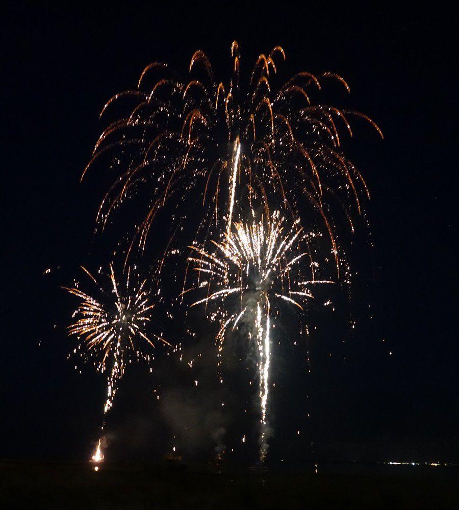 Le feu d'artifice du 14 juillet...