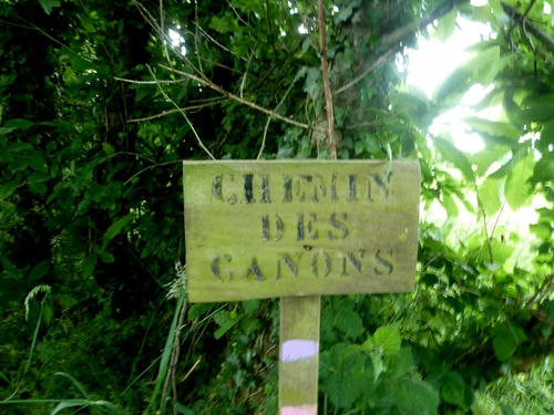 Le Chemin des Canons....