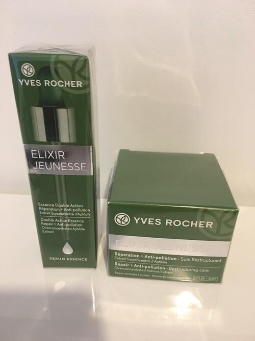 gamme Elixir Jeunesse d'Yves Rocher: une découverte éclatante!