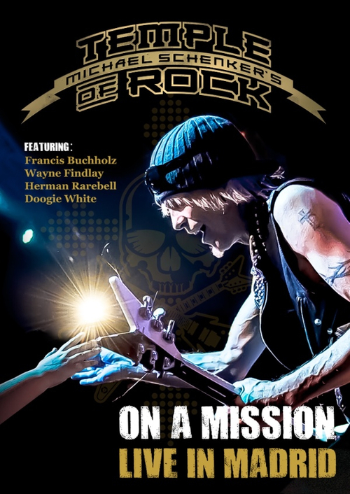 MICHAEL SCHENKER'TEMPLE OF ROCK