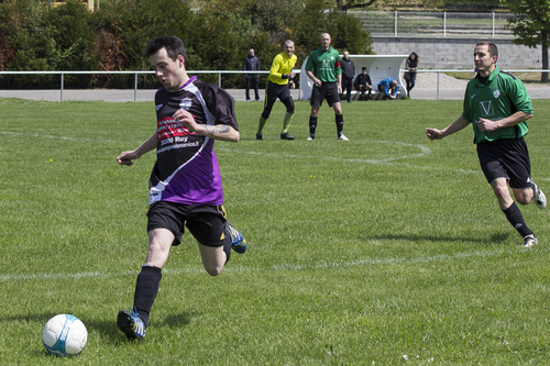 photo, de, foot, football, EFDE, entente, footballistique, des, étangs, AMS, roche