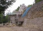 reconstruction du vieux château à Noyers