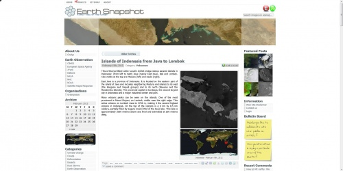 Earth Snapshot