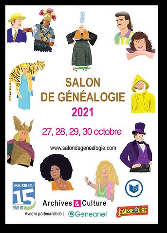 Salon de généalogie - PARIS 2021