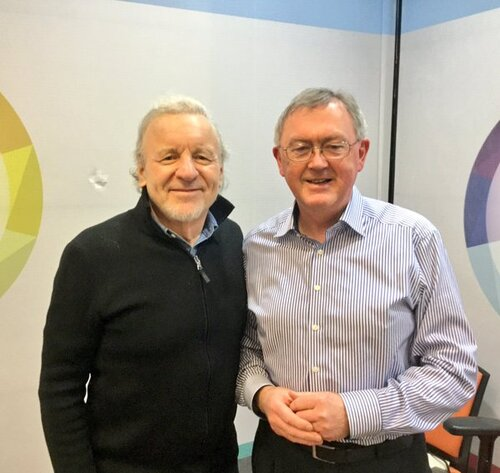 Colm Wilkinson and Sean O'Rourke