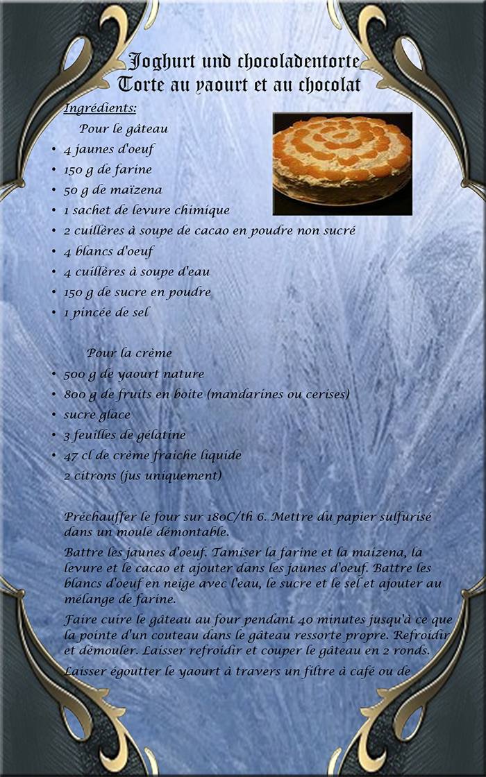 torte au yaourt