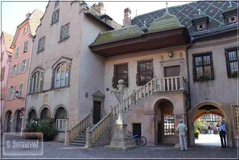Alsace Haut-Rhin Colmar le Koïfhus Ancienne Douane côté Grand Rue