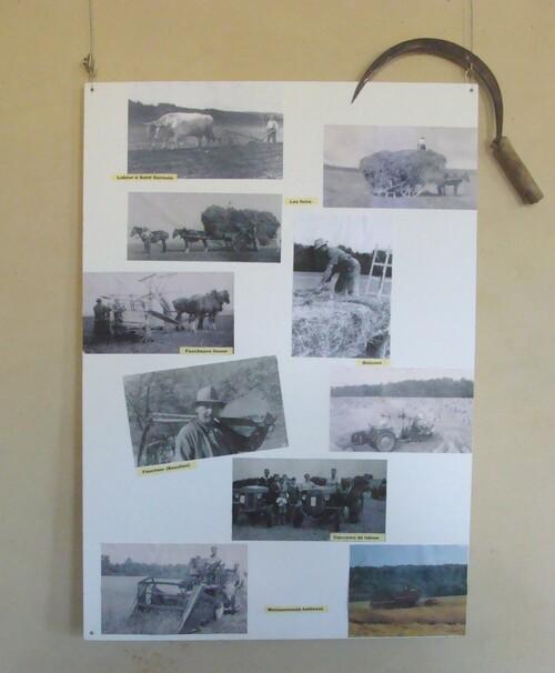 A Beaulieu,les travaux des champs...