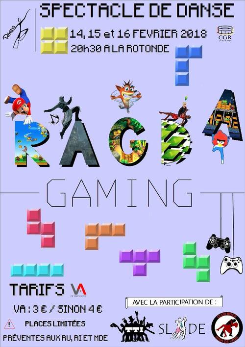 Spectacle de danse: RAGDA Gaming