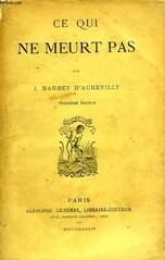 Evas'IFS : Barbey d'Aurevilly