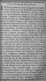 1219. Even prieur du prieuré du Pont