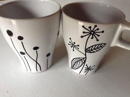 """Mugs toi&moi """"Dizaïn"""" #DIY"""