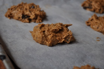 Cookies au café et aux pépites de chocolat