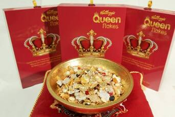 Are Queen Flakes the poshest cereal ever made?