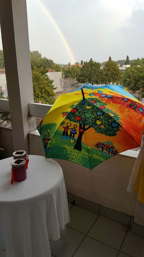 Parapluies à Roanne