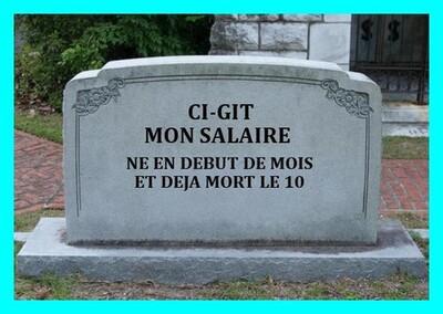 Les français connaissent des fins de mois difficiles ?