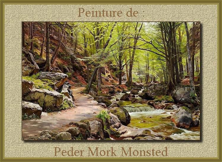 Peinture de : Peder Mork Monsted