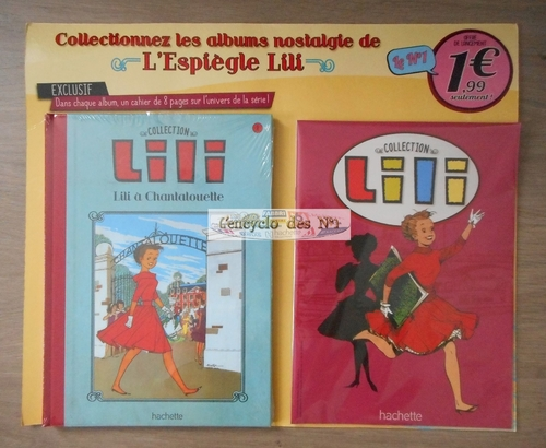N° 1 Collection BD Lili - Lancement