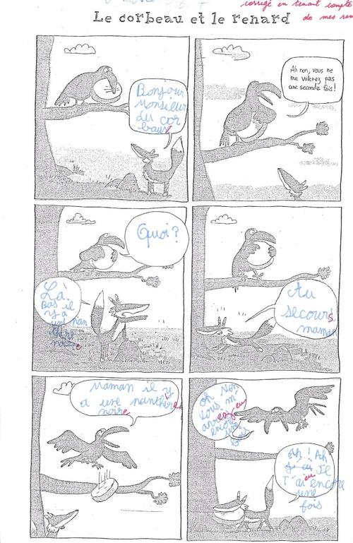 Ecrire des bulles (plan 4) : quelques productions