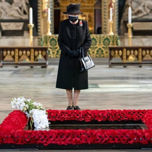 Elisabeth II à Westminster Abbey