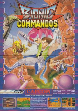 Bionic Commando - Capcom