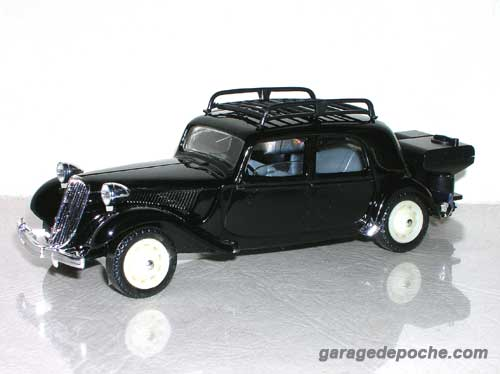 Citroën traction gazogène 1940