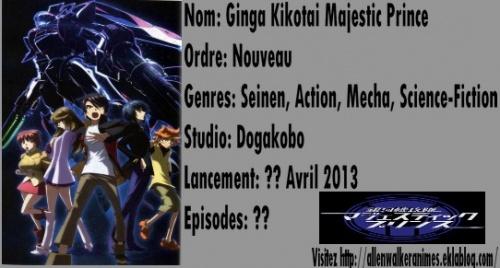 Liste des animes du Printemps 2013 [Maj 29/12/12]
