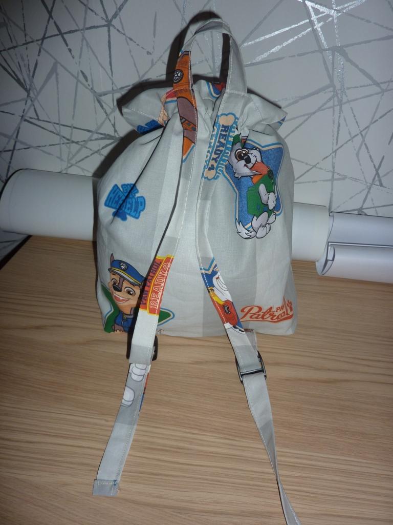 Sac à dos et sac à jouets