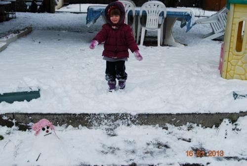 - Célie et la neige