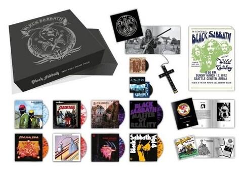 BLACK SABBATH - Sortie d'une boxset vinyle