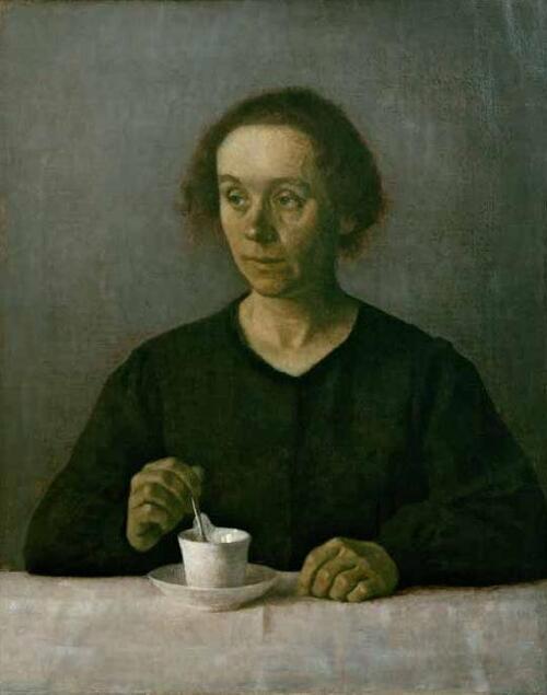 Samedi - Vilhelm Hammershoi