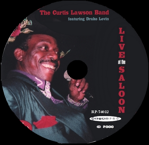 "Curtis Lawson : CD "" Live At The Saloon "" Laquanta Records RP-74032 [ US ]"