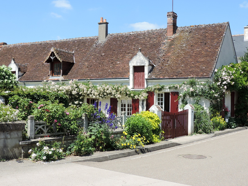 Chedigny, village-jardin de Touraine...