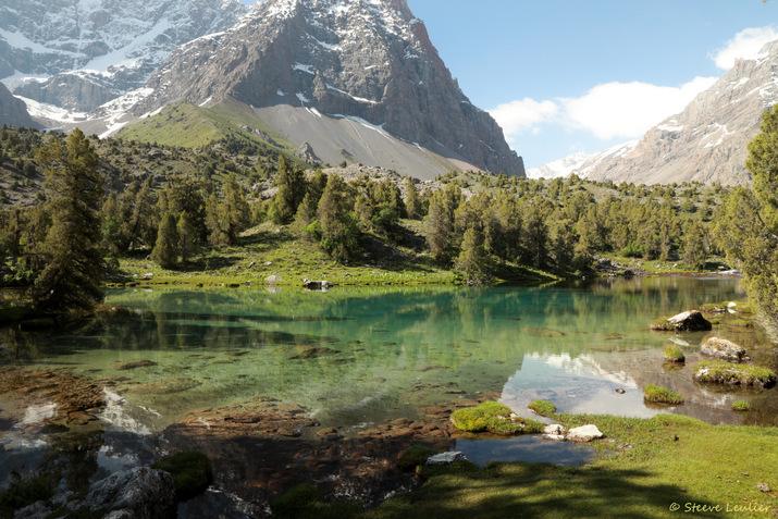 En route vers le lac Mutnoye, Tadjikistan