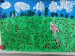 Art visuel à la manière de Monet