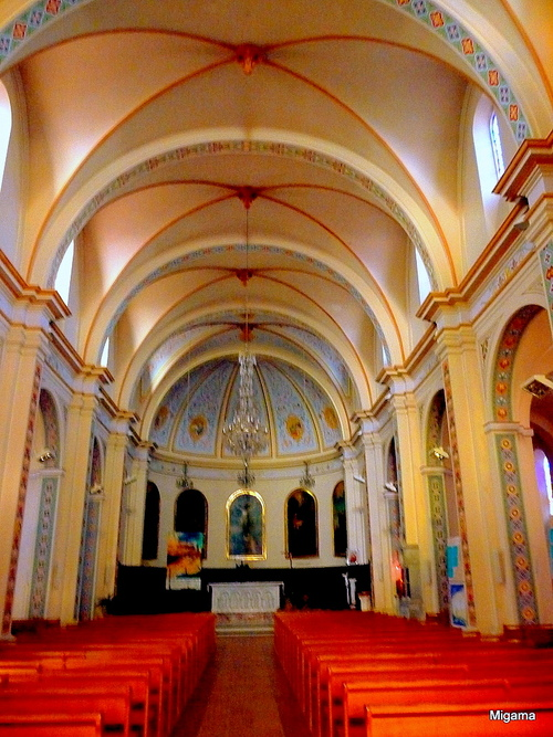 Coopération (3) : Briatexte, l'église ... Auribeau, des portes...