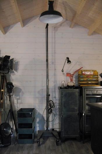 Lampe Atelier cousu main M6  1