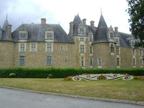 Le château en Chateaubriant en Loire Atlantique
