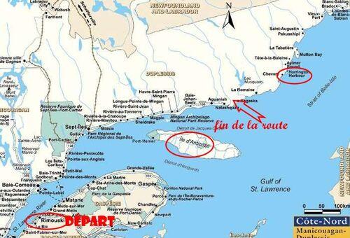 Un village du Québec, sans rue....